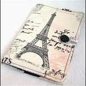 Eiffel tornyos - Paris   kindle  tok, Táska, Pénztárca, tok, tárca, Laptoptáska, A tok ára géped méretétől függően változik, az ár-méret táblázatot legalul találod.  E-book tok az o..., Meska