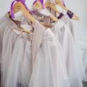 Vállfa esküvőre, Esküvő, Esküvői dekoráció, Hajdísz, ruhadísz, Meghívó, ültetőkártya, köszönőajándék, Famegmunkálás, Egyedi, névre szóló vállfa esküvőre a menyasszonynak, a koszorúslányoknak,  vagy akár lánybúcsúra a..., Meska