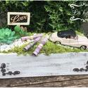 Nászajándék-autós, Esküvő, Nászajándék, Ha unod a sablonos borítékot.  Mérete: 25cm, Meska