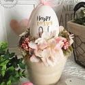 Húsvéti asztaldísz, Dekoráció, Otthon, lakberendezés, Asztaldísz, Mérete: 20cm, Meska