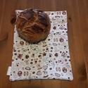 Kávés kenyeres zsák (kilós), A zsák 1 kg-os kenyerek több napon keresztül ta...