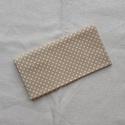 Bézs textilzsebkendő, Méret: ~30x30 cm Mosás: 60°C Vasalni is szabad....