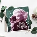 MARI karácsonyi képeslap - vintage