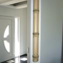 bambusz fali mécsestartó III, Otthon, lakberendezés, Dekoráció, Gyertya, mécses, gyertyatartó, Lámpa, Saját tervezésű és gyártású, kézzel készített fali mécsestartó bambuszból, lakkozva vag..., Meska