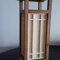 """Bambusz asztali japán Shoji lámpa, Otthon, lakberendezés, Lámpa, Asztali lámpa, Hangulatlámpa, Saját tervezésű és gyártású japán """"Shoji""""lámpa   A többi általam gyártott egyedi lámpá..., Meska"""