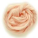 """""""rose"""" selyemsál , Ruha, divat, cipő, Női ruha, Selyemfestés, Klasszikus, nőies, finom: nagyon halvány, krémes rózsaszín.  Valódi tisztaselyem sál, kb. 40x150 cm..., Meska"""