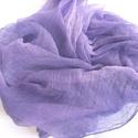 orgona-lila nagy géz-sál, Ruha, divat, cipő, Női ruha, Világos, üde árnyalat a lilakedvelőknek... ...Mérete kb 90x170cm(be van szegve)  Pihe-puha géz..., Meska