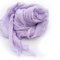 Halvány lila nagy géz-sál., Ruha, divat, cipő, Női ruha, A lila egyik finom, halvány árnyalata.... Mérete: kb90x170cm(be van szegve)  Pihe-puha gézkendő..., Meska