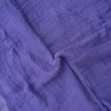 """""""levendula"""" nagy géz-sál, Ruha, divat, cipő, Női ruha, Középsötét kékes-lila (vagy lilás kék)  - olyan igazi levendula-szín... ...Mérete kb 90x170cm(be van..., Meska"""