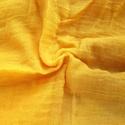 """""""napsárga"""" nagy géz-sál, Ruha, divat, cipő, Női ruha, Visszafogottabb típusú, kellemes sárga.. Mérete kb 90x170cm(be van szegve)  Pihe-puha gézkendő..., Meska"""