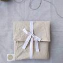 Szendvics tasak, Táska, Divat & Szépség, NoWaste, Táska, Éld a napjaid csomagolásmentesen!    A textil tasak használata során már nincs szükség más csomagoló..., Meska