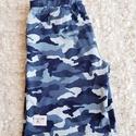 Bermuda 3-5 év, Ruha, divat, cipő, Gyerekruha, Gyerek (4-10 év), Varrás, Finom, puha pamutjerseyből készült ez a rövidnaci. Vékony anyaga miatt ideális viselet a legnagyobb..., Meska