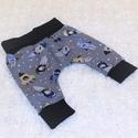 Pamut babanadrág, Ruha, divat, cipő, Gyerekruha, Baba (0-1év), Pamut babanadrág. A derekában nincs gumi így nem nyomja a babapocakot, Meska