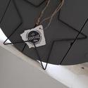 Fém csillag, Dekoráció, Dísz, Drótból hajlított csillag. Méret: 30 X 31 cm.  Elérhető 1 db., Meska