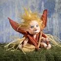 Kobold figura kabala - Totó a baby kobold - porcelán testű baba (LegendLand) - Meska.hu