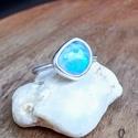 Ezüst Holdkő gyűrű, Holdkő ezüstbe foglalva.   Ezüstékszereimet ha...