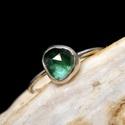 Ezüst Turmalin gyűrű, Turmalin ezüstbe foglalva.   Ezüstékszereimet h...