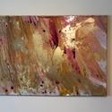 homokvihar, Képzőművészet, Festmény, Festmény vegyes technika, Festészet, 50x70cm  vászon, egyéni technikával festve, Meska