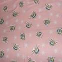 macikás ágynemű huzat, Baba-mama-gyerek, Baba-mama kellék, Gyerekszoba, Falvédő, takaró, Rózsaszin macikás ágynemű szett. Takaró mérete:93x144cm párna:40x50cm Puha pamutból készül..., Meska