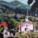 Szenttamás, Képzőművészet, Festmény, Olajfestmény, Festészet, Le kellene festeni az összes elérhető kápolnát...valósággal hívogatják az embert. 33x48 centimétere..., Meska