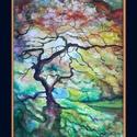Alkony, Dekoráció, Képzőművészet, Kép, Festmény, Festészet, A/4-es méretű, keret nélküli akvarell. (A keret virtuális.), Meska