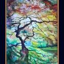 Alkony, Dekoráció, Képzőművészet, Kép, Festmény, Festészet, A/4-es méretű akvarell. (A keret virtuális.), Meska