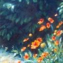 Kasvirág, Képzőművészet, Dekoráció, Festmény, Olajfestmény, Olajkép feszített vásznon, keretezést nem igényel. 20x30 cm., Meska