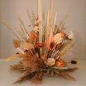 Szárított növény dekoráció eseményekre, Esküvő, Dekoráció, Asztaldísz, Virágkötés, Saját kézzel készített  asztali dísz vagy akár függeszthető dekoráció minőségi alapanyagokból. Mesé..., Meska