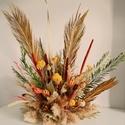 Szárított növény dekoráció eseményekre, Otthon & Lakás, Dekoráció, Asztaldísz, Virágkötés, Saját kézzel készített  asztali dísz vagy akár függeszthető dekoráció minőségi alapanyagokból. Mesé..., Meska