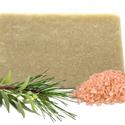 Himalája sós kézműves szappan, Szépségápolás, Szappan, tisztálkodószer, Natúrszappan, Növényi alapanyagú szappan, Szappankészítés, Az extra szűz olívaolaj antioxidáns, óvja a bőrt a káros szabadgyökök hatásától, megelőzi az  örege..., Meska