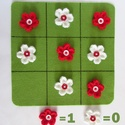 Amőba a virágoskerben, Játék, Készségfejlesztő játék, Logikai játék, Horgolás, Az amőba néven ismert játék az egyik legideálisabb készségfejlesztő játék a gyermekek számára. A já..., Meska