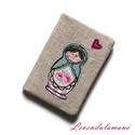 Matrjoska babás kártyarendező, Mindenmás, Kényelmes és praktikus módja a bankkártyák, személyi igazolványok és egyéb kártyák sorba rendezéséhe..., Meska