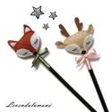 Róka és őzike ceruza szett, Róka és őzike két jó barát, rajzolni/írni s...