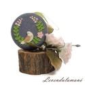 Madárkás tűtartó vagy fülhallgató tartó, Ez a kis bármi tartó kedves ajándék lehet azok...