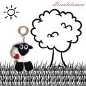 Báránykás kulcstartó, Mindenmás, Játék, Dekoráció, Kulcstartó, Ez az aranyos, pihe puha báránykás kulcstartó polár anyagból készült. Ártatlanul csillogó ..., Meska