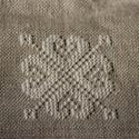 Kézzel hímzett levendulapárna, Otthon, lakberendezés, Keresztszemes hímzéssel készült levendula párnát kínálok eladásra. Saját termelésű szár..., Meska