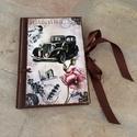 Nosztalgia napló, Bútor, Férfiaknak, Konyhafelszerelés, Ez a napló nagyszerű választás bármilyen alkalomra ajándékként , de persze saját részre is..., Meska