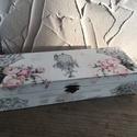 Esküvői doboz , Esküvő, Otthon, lakberendezés, Nászajándékként egy kis ötlet : az esküvőre érkeztekor a kis dobozt valahol elhelyezzük , akár körbe..., Meska