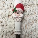 Mikulásos kiskanál, Baba-mama-gyerek, Dekoráció, Karácsonyi, adventi apróságok, Ünnepi dekoráció, Egy kis apróság amellyel már most becsempészheted a karácsony szellemét a minden napokba . Nagyszerű..., Meska