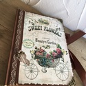 Rózsás napló a legféltettebb titkaidnak, Bútor, Férfiaknak, Konyhafelszerelés, Ez a napló nagyszerű választás bármilyen alkalomra ajándékként , de persze saját részre is :) Teljes..., Meska