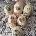 Csodás húsvéti tojások eredeti lúd tojásból , Baba-mama-gyerek, Otthon, lakberendezés, Húsvéti díszek, Légy egyedi , dekoráld otthonod , nem mindennapi ízlésesen díszített gyönyörű formájú  to..., Meska