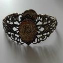 Antik hatású karkötő és gyűrű