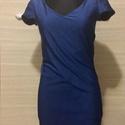 Csavart ruha, Ruha, divat, cipő, Női ruha, Ruha, Varrás, Megrendelhető a képen látható ruha 38-40 méretben. A megrendelő választja ki a színt. Az anyaga rug..., Meska