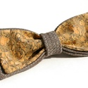 Parafa csokornyakkendő Cloud Silver For Men, Esküvő, Férfiaknak, Ruha, divat, cipő, Vőlegényes, Varrás, Kollekciónk szövet-parafa nyakkendői a férfiak ruhatárának meghatározó darabjai. A különleges anyag..., Meska