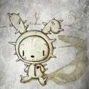 Nyúlfarkas - aláírt, dátum ozott nyomat, Képzőművészet, Illusztráció, Fotó, grafika, rajz, illusztráció, A 6 darabos szürke sorozatom egyik darabja. Fekete&fehér, szürke kedvelőknek..   Technikai informác..., Meska