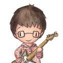 Gitáros fiú (nagy) - aláírt, dátmozott nyomat, Képzőművészet, Illusztráció, Fotó, grafika, rajz, illusztráció, ... azoknak, akik imádják a gitárjukkal tölteni az időt.. :)  Technikai információk: - a kép digitá..., Meska