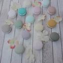 Macaron dekoráció Májusi akció!!!, Otthon, lakberendezés, Dekoráció, Csodás francia macaron dekorációkat készítettem gipszből, amit aztán krétafestékkel festett..., Meska