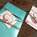 Pénz átadó boríték, Nászajándék, Gratulálunk képeslap, Esküvői Gratuláció, Esküvői pénz lap, Esküvő, Naptár, képeslap, album, Nászajándék, Meghívó, ültetőkártya, köszönőajándék, Igényes Rusztikus Pénz Átadó Képeslap Prémium fényes Borítékkal  Add át nászajándékodat ezzel a gyön..., Meska