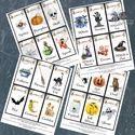 Halloween party kártya, Játék kártya, Halloween buli, halloween dekor, halloween lap, boszorkány, pók, tök, Játék, Dekoráció, Naptár, képeslap, album, Társasjáték, Halloween Party Játék Kártya szett, JPG FILE!!  24db Halloween Party Kártya, 4 Db A4-es digitális la..., Meska