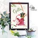 Névre Szóló Virágos Kép, Festmyény, Viárogkötészet, Virág kép, falikép, lány, lady, hölgy, divat, kislány, virágos, Dekoráció, Ruha, divat, cipő, Dísz, Kép, A4 Minőségi Print Lap, Nyomtatás  * KERET NÉLKÜL! *  * MÉRET: A4  * ANYAG: 250g-os kiváló minőségű n..., Meska